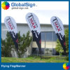 Bannière extérieure imprimée adaptée aux besoins du client de vol de larme (modèle A)