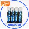 Nuevas baterías duraderas del acumulador alcalino AAA/Lr03