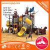Спортивная площадка пластичного скольжения пробки детей корабля спиральн напольная для школы