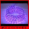 休日の高出力軽いクリスマスの装飾ライトは13mm紫色LEDロープライトを防水する