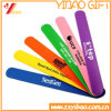 Bracelet r3fléchissant de claque de PVC de sport de fabrication (YB-SW-07)