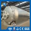 Sistema di riciclaggio della gomma di pirolisi del riscaldamento del combustibile alternativo