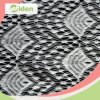 Tessuto di nylon francese alla moda del merletto degli accessori dell'indumento