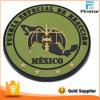 Het Kledingstuk van uitstekende kwaliteit past om Maken van het Flard van de Band van pvc van de Kaart van Mexico van de Knuppel het 3D Zachte Magische aan