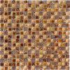 mosaico di pietra di marmo naturale del reticolo di mosaico 15X15 per la stanza da bagno