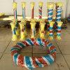Tubo flessibile estraente allineato di ceramica industriale libero Anti-Abrasivo, flessibile, di piegamento