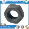 Preto pesado da porca Hex de aço de carbono da classe 8 fosfatado