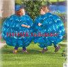 bola inflable de Zorb de la carrocería del PVC de los 0.9m, bola de parachoques para el juego de la bola de la burbuja del balompié de la burbuja del fútbol de la burbuja de los niños para los cabritos
