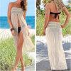 Сексуальное открытое платье пляжа шнурка отрезока Semi прозрачное сексуальное (50126)