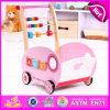 2015 pädagogisches Wooden Activity Baby Walker, Multi Colour Wooden Baby Walker, Hot Selling Wooden Baby Walker für Toddler W16e036