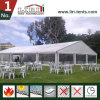 Grande tenda impermeabile bianca della parte superiore del tetto del PVC per le cerimonie nuziali ed i partiti esterni