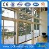Porte en verre en aluminium de porte coulissante d'usine pour la porte d'entrée de modèle