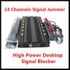 Segnale astuto Jammer/Blocker di /4G dell'emittente di disturbo di GPS delle 12 fasce/emittente di disturbo di WiFi