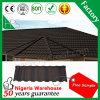 De Chinese Verglaasde Vlakke Tegel van het Dak van het Metaal van het Dakwerk Steen Met een laag bedekte