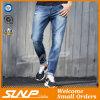 Männer arbeiten hohe Stardard waschende Indigo-Blau-Denim-Jeans-Kleidung um