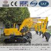 Máquina escavadora da esteira rolante de Shandong Baoding 8.5ton com a cubeta 0.5m3