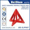 Segnale stradale d'avvertimento di plastica del triangolo di sicurezza stradale
