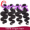 Оптовые дешевые продукты волос Remy черноты девственницы, волосы объемной волны Unprocessed девственницы европейские