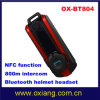 de Helm Headset/Headphone van Bluetooth van de Intercom van 800m