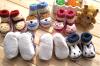 Chaussette d'intérieur de bébé de plancher d'hiver