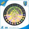 Stickers van het Hologram van het Embleem van de Folie Stickers/Own van de Hologrammen Stickers/Make van de stamper de Duidelijke Holografische