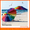 Изготовленный на заказ Adverting зонтик Sun пляжа