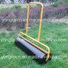 Rolo de aço do gramado do jardim do impulso da mão com água ou a areia de 60 litros