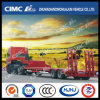 2axle Low Diritto-Beam Bed Semi Trailer Without Cover su Tire