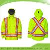 Veste 100% r3fléchissante de sûreté tricotée parForce de polyester