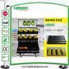 Supermarkt-Bananen-Bildschirmanzeige-Zahnstangen-Standplatz-Tisch
