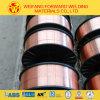 alambre de soldadura plástico de MIG del alambre de soldadura del carrete Er70s-6 de 0.8m m 5kg/D200 con el blindaje del gas del CO2