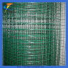 الأخضر البلاستيكية المغلفة ملحومة شبكة أسلاك رولز