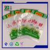 Bolsa plástica vegetal de la réplica ISO90012008 con insignia de encargo