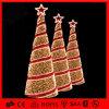 De warme Witte Spiraalvormige Kerstboom van de Slinger van pvc Deocration