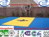 セリウムおよびDIN Approval Interlocking Embossed Basketball Flooringを使って