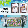 Impresora de correa de la materia textil de Digitaces para que rodillo de las telas ruede la impresión