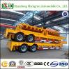 Grote Verkoop 2 de Semi Aanhangwagen van Lowbed van Assen/Semi Aanhangwagen Lowboy/de Aanhangwagen van de Vrachtwagen