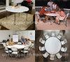 Пластичный круглый стол Folding, 5ft Round Folding в банкете Table Half Table/152cm Plastic Foldable Round, Outdoor Folding Half Moon Table