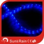 Sunrain Luz LED plana azul Rope Light