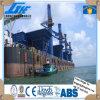 Carvão que segura o guindaste elétrico da plataforma do navio da garra