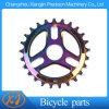 Roda dentada brandnew da bicicleta do alumínio 7075 T6 BMX 25t do arco-íris