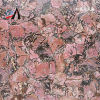 Table Top、Wall Tile、TV BackgroundのためのRhodonite Semi Precious Stone Slab