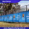 Impresión rápida de la sublimación de la salida que hace publicidad de la bandera al aire libre del acoplamiento de la cerca
