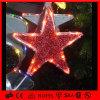 Indicatori luminosi della stella di Decoraiton LED della festa nuziale dell'hotel di natale