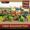 2016 Ce Plastic High Quality Outdoor Playground para Park (12076A)