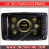 Speciale Car DVD Player voor VW Golf/Passat/Touran met GPS, Bluetooth. (CY-7130)