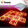 Patente de vidrio templado 2en1 Wash haz LED Dance Floor