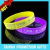 Braceletes baratos do silicone da promoção nenhum mínimo (TH-08960)