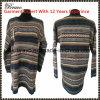 Оптовой шток пуловера шеи повелительниц круглой длинней связанный втулкой (6543#)