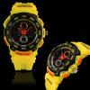 Reloj de goma del deporte de 2014 Digitaces de la nueva del diseño manera caliente de la venta
